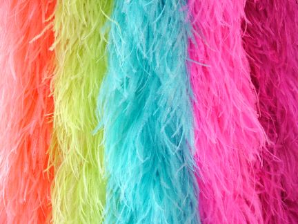 Dancewear Feathers, Trims and Boas