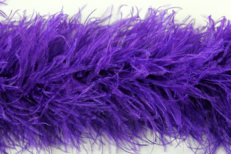 Super Deluxe 10 ply Ostrich Feather Boa 34