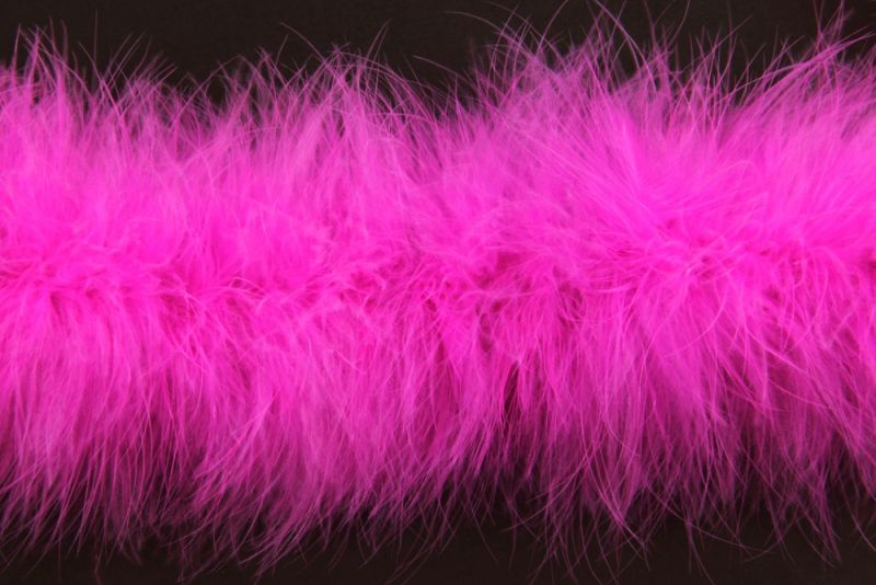 Special Offer Pop Pink Marabout Feather Boa 1