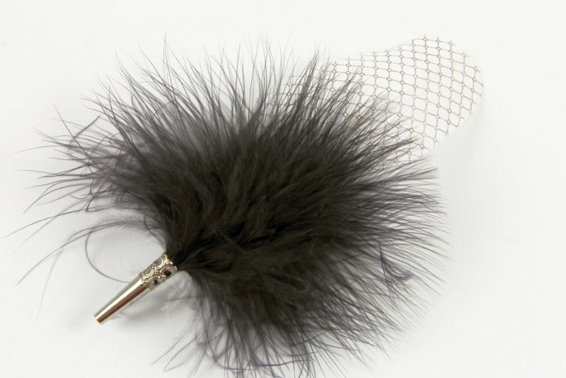 Pattern Feather Brooch 1