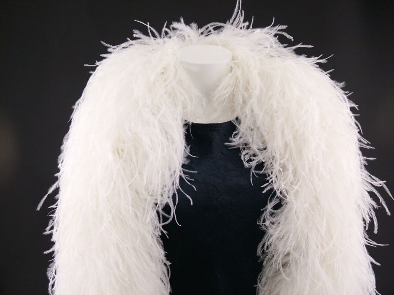 Super Deluxe 10 ply Ostrich Feather Boa 1
