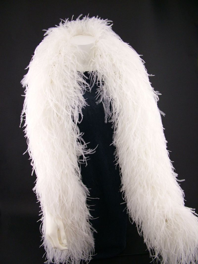 Super Deluxe 10 ply Ostrich Feather Boa 3