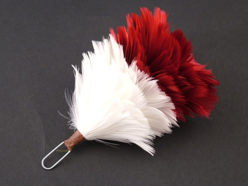 Glengarry Hackle 2 Tone 1