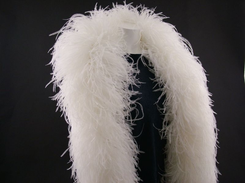 Super Deluxe 15 Ply Ostrich Feather Boa 1