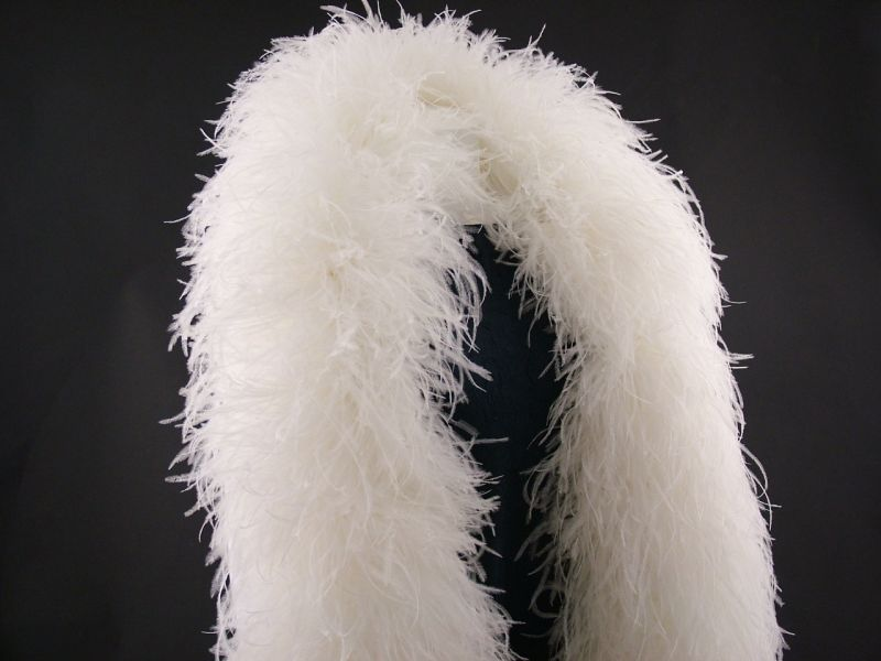 Super Deluxe 20 Ply Ostrich Feather Boa 1