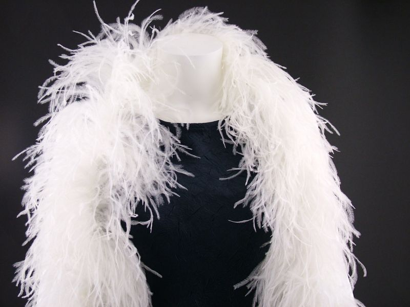 Deluxe 5 ply Ostrich Feather Boa 1