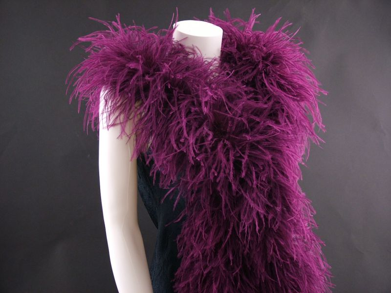 Deluxe 5 ply Ostrich Feather Boa 5