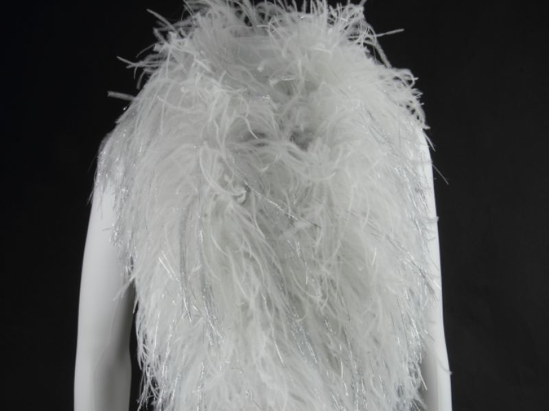Sparkling Deluxe Ostrich Feather Boa 4