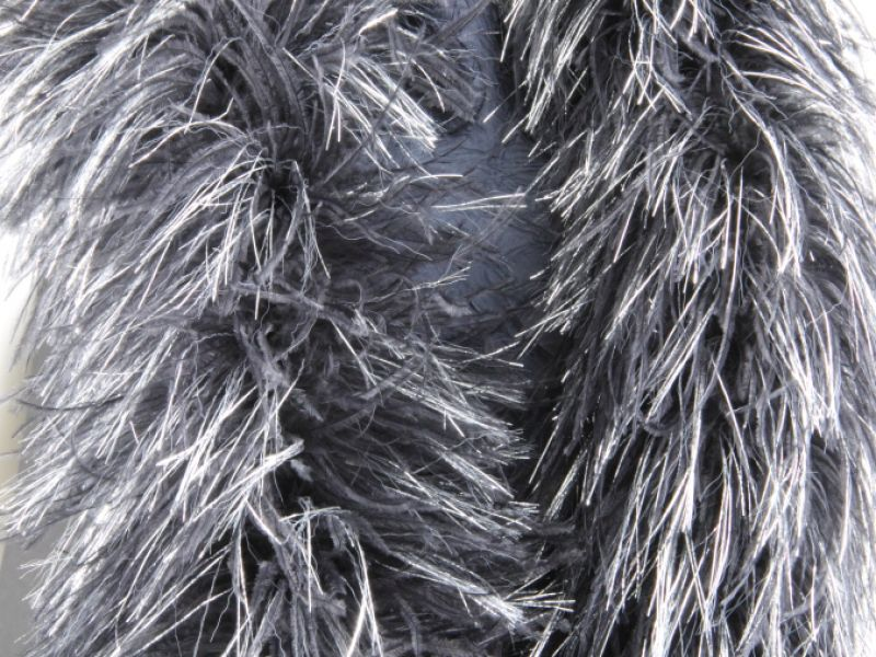 Lurex and Ostrich Feather Boa 5