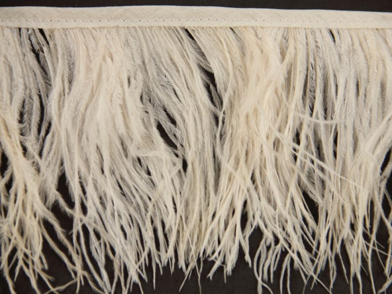 Special Offer Blondie Delicate Ostrich Fringe (1 metre) 1