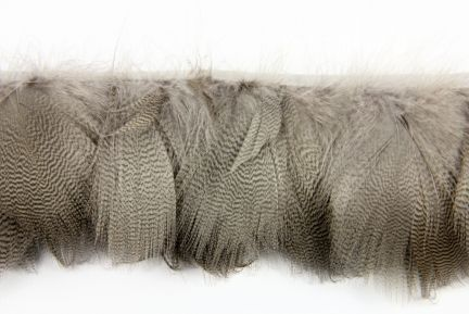 Special Offer Grey Mallard Duck Flank Feather Fringe.