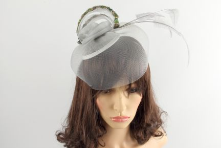 Golden Moon Fascinator