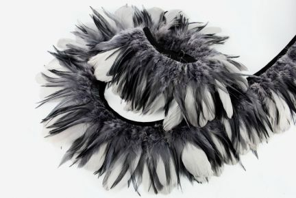 Hackle & Nagorie Feather Fringe