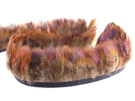 Pheasant Hair Feather Fringe