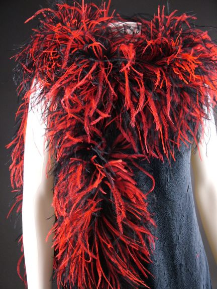 Two Tone Ostrich Feather Boa