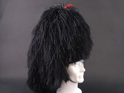 Pipers Feather Bonnet