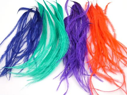 Ostrich Herl Craft Feathers (1g Pack)