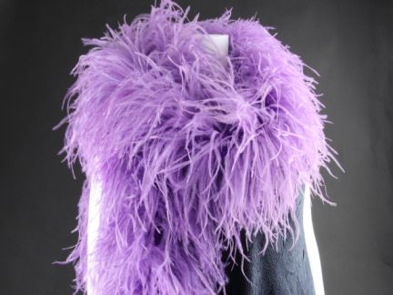 Special Offer 5 Ply Lavender Ostrich Feather Boa