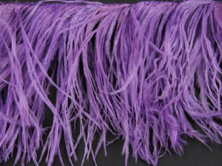 Special Offer 2 Ply Heather Ostrich Fringe (1 Metre)