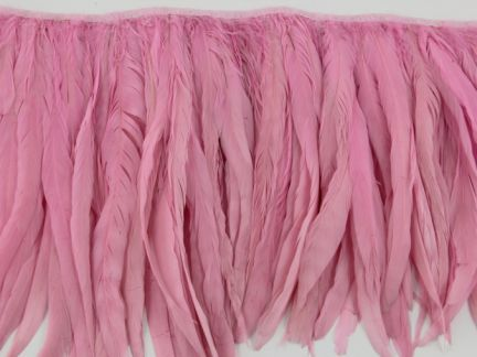 Special Offer Baby Pink Coque Fringe (40cm)