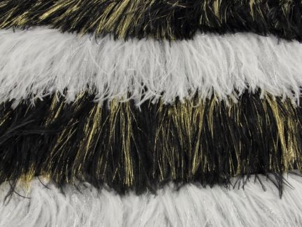 SPARKLING OSTRICH FEATHER FRINGE 2 PLY (1 metre)