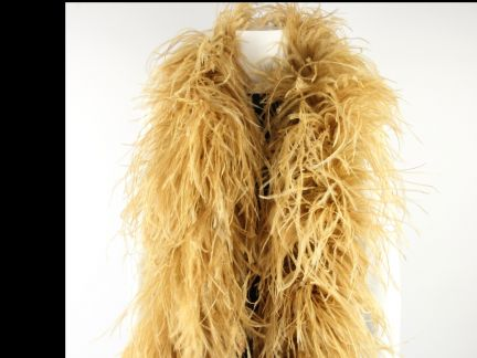 Special Offer 5 Ply Gold Ostrich Feather Boa