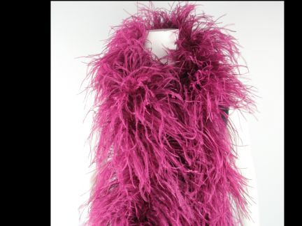 Special Offer 5 Ply Fuchsia Ostrich Feather Boa